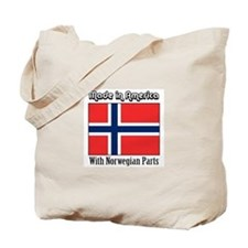 Norwegian Parts Tote Bag