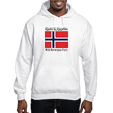 Norwegian Parts Hoodie Sweatshirt