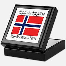 Norwegian Parts Keepsake Box