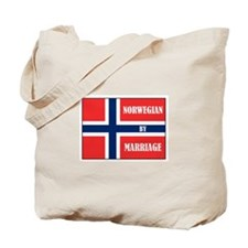 Norwegian by Marriage Tote Bag