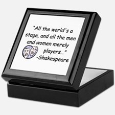 Acting Keepsake Box