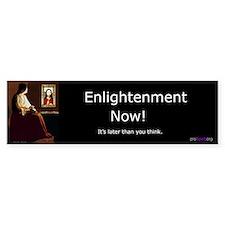 Enlightenment Now! - Bumper Bumper Sticker