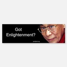 Dalai Lama - Bumper Bumper Bumper Sticker