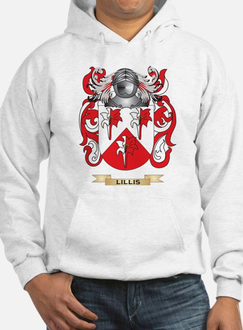 Lillis Coat of Arms - Family Crest Hoodie