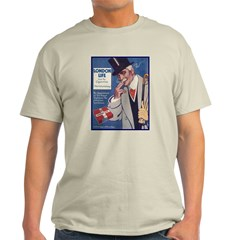 London Life Ash Grey T-Shirt
