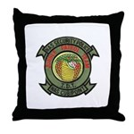 Cubi Point Jungle Patrol Throw Pillow
