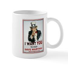 Uncle Sam Save Martha Mug