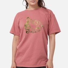 Unique Musician Womens Comfort Colors Shirt