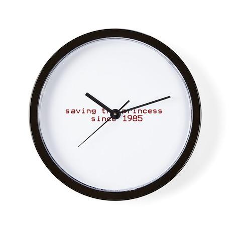 saving the princess since 198 Wall Clock
