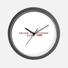 saving the princess since 198 Wall Clock