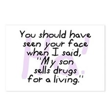 Son Sells Drugs Postcards (Package of 8)