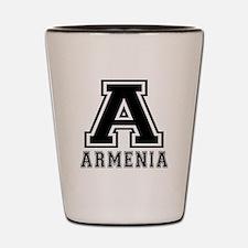 Armenia Designs Shot Glass
