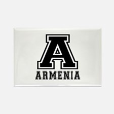 Armenia Designs Rectangle Magnet