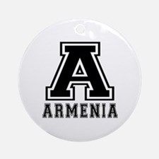 Armenia Designs Ornament (Round)