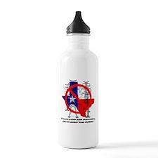 Texas Skylines Water Bottle