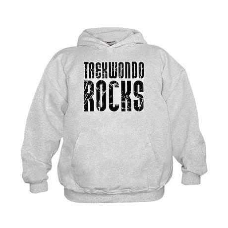 Taekwondo Rocks Kids Hoodie