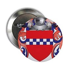 """Lindsay Coat of Arms - Family Crest 2.25"""" Button"""