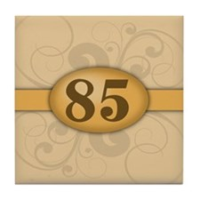 85th Birthday / Anniversary Tile Coaster
