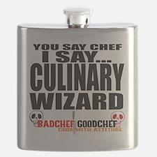 I am a Culinary Wizard Flask
