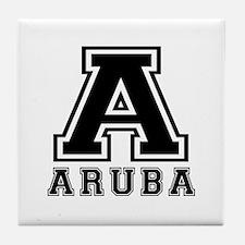 Aruba Designs Tile Coaster