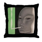 SATO Cigarettes Throw Pillow