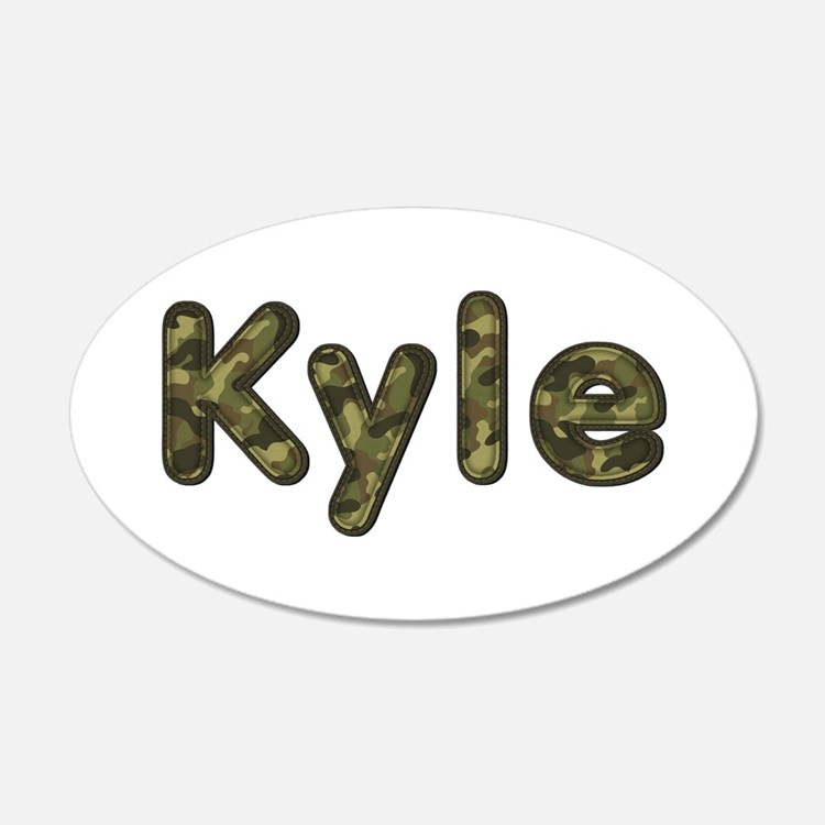 Kyle Army Wall Decal