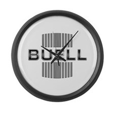 Buell Large Wall Clock