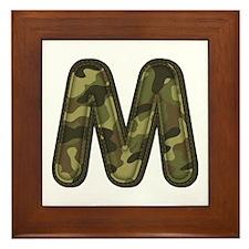 M Army Framed Tile