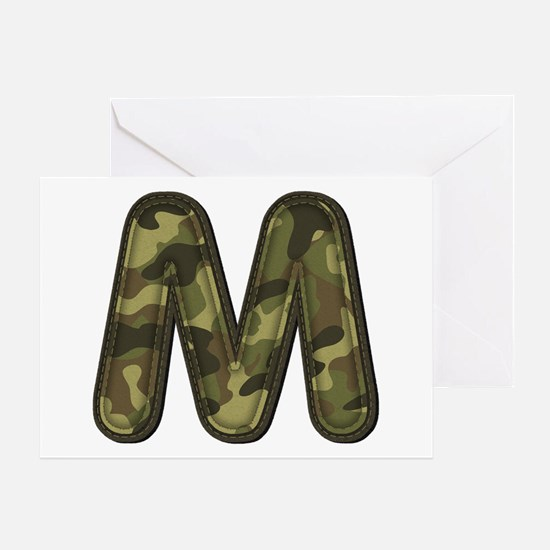 M Army Greeting Card