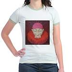 Smoking Clown: Jean D'ylen, 1 Jr. Ringer T-Shirt