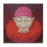 Smoking Clown: Jean D'ylen, 1 Tile Coaster