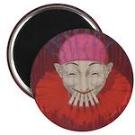 Smoking Clown: Jean D'ylen, 1 Magnet