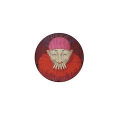 Smoking Clown: Jean D'ylen, 1 Mini Button (10 pack