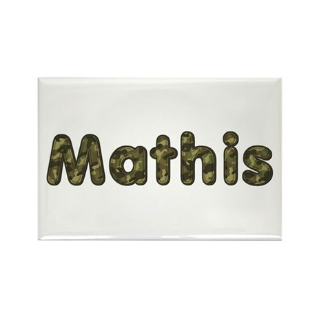 Mathis Army Rectangle Magnet 100 Pack