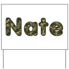 Nate Army Yard Sign