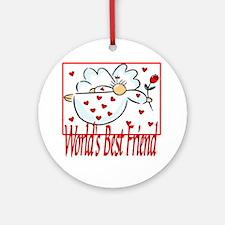World's Best Friend Ornament (Round)