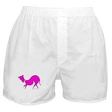 Pink Prissy Boxer Shorts