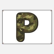 P Army Banner