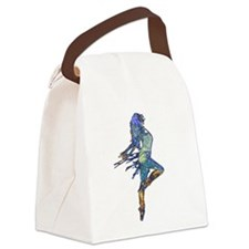 Flash Dance Canvas Lunch Bag