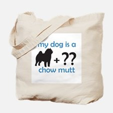 Chow Mutt Tote Bag