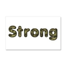 Strong Army 20x12 Car Magnet