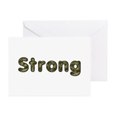 Strong Army Greeting Card 10 Pack