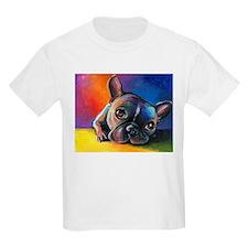 French Bulldog 5 Kids T-Shirt