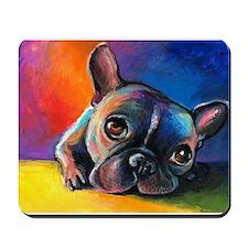 French Bulldog 5 Mousepad