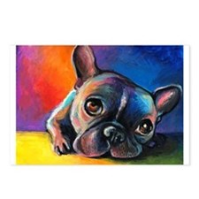 French Bulldog 5 Postcards (Package of 8)