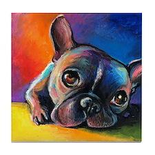 French Bulldog 5 Tile Coaster