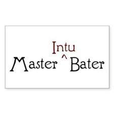 Master Intubater Decal