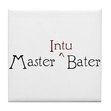 Master Intubater Tile Coaster