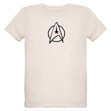 Unique Star trek emblem T-Shirt