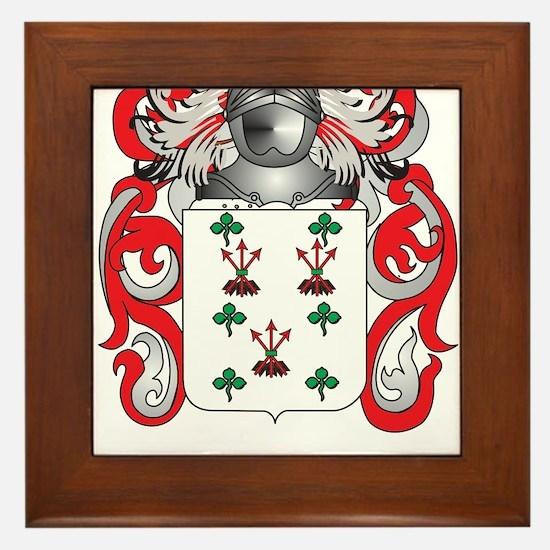 Littlejohn Coat of Arms - Family Crest Framed Tile